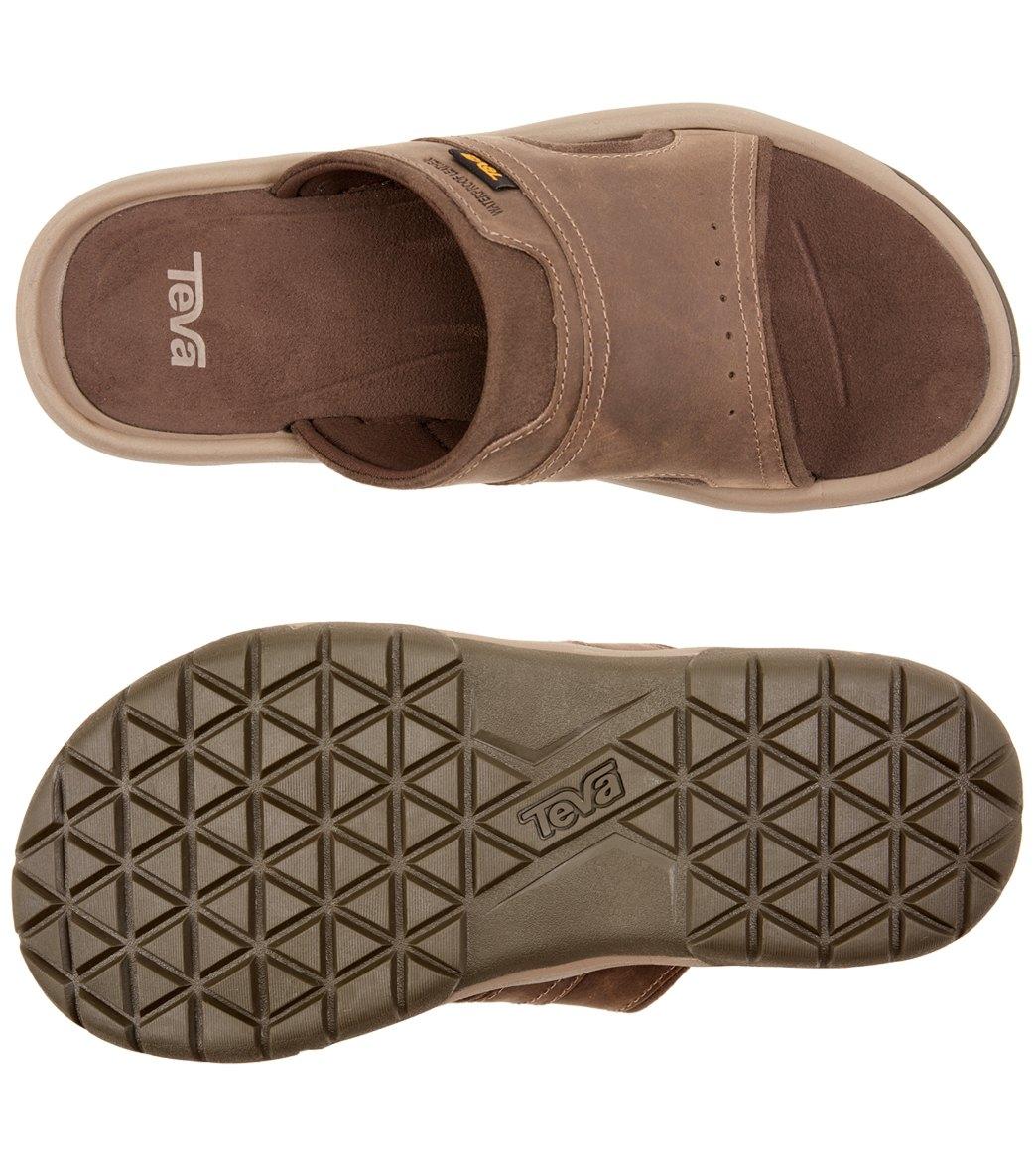 6e01667e1 Teva Men s Langdon Slide Sandal at SwimOutlet.com - Free Shipping