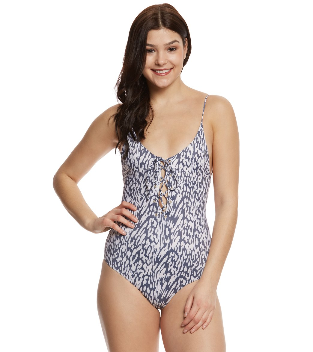 0bb37f4b06 Tavik Mahiki Animal Monahan One Piece Swimsuit at SwimOutlet.com - Free  Shipping