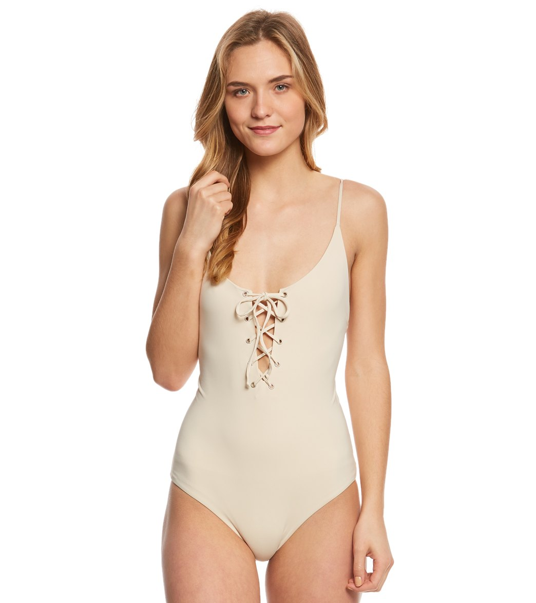 bb33f4513de56 Tavik Solid Monahan One Piece Swimsuit at SwimOutlet.com - Free Shipping