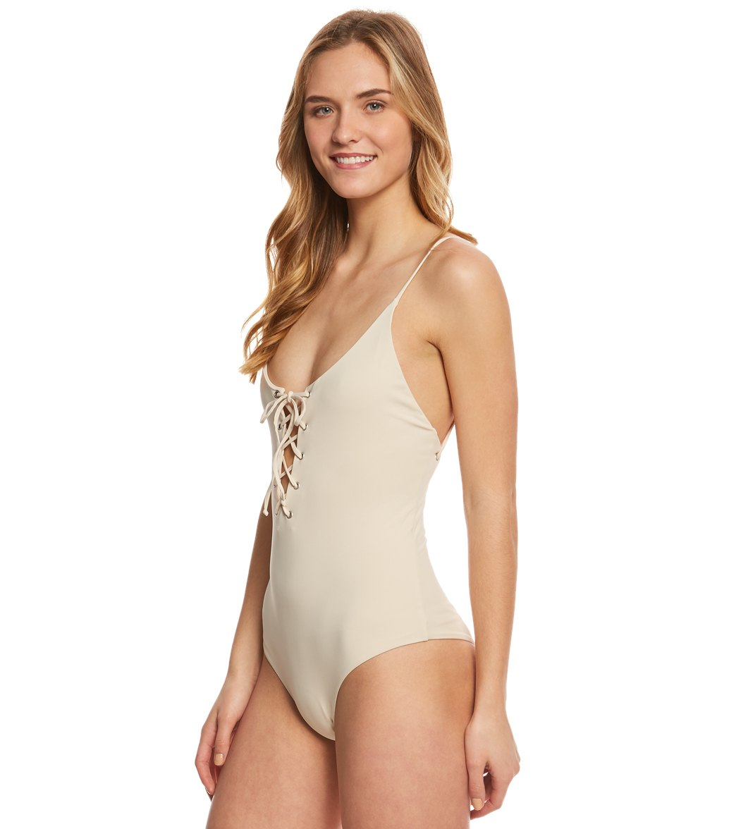 e4e4606b54 Tavik Solid Monahan One Piece Swimsuit at SwimOutlet.com - Free Shipping
