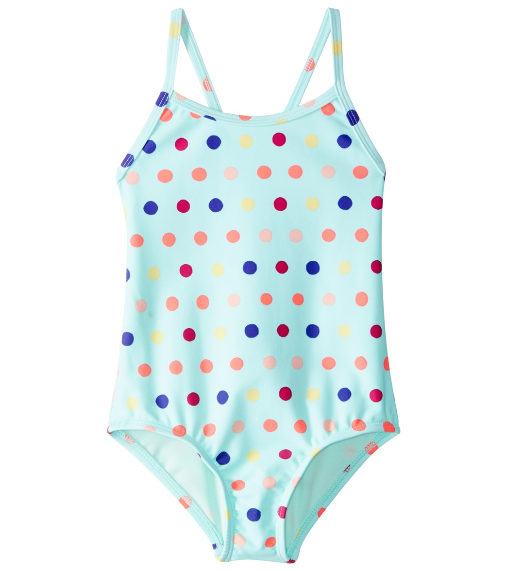 c17ff398ee Roxy Kids Girls' Rainbow Dots One Piece Swimsuit (2T-6) at ...