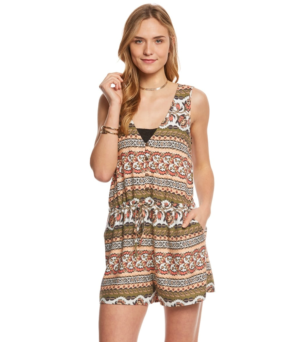36e2d7976f55 MINKPINK Temple Romper at SwimOutlet.com - Free Shipping
