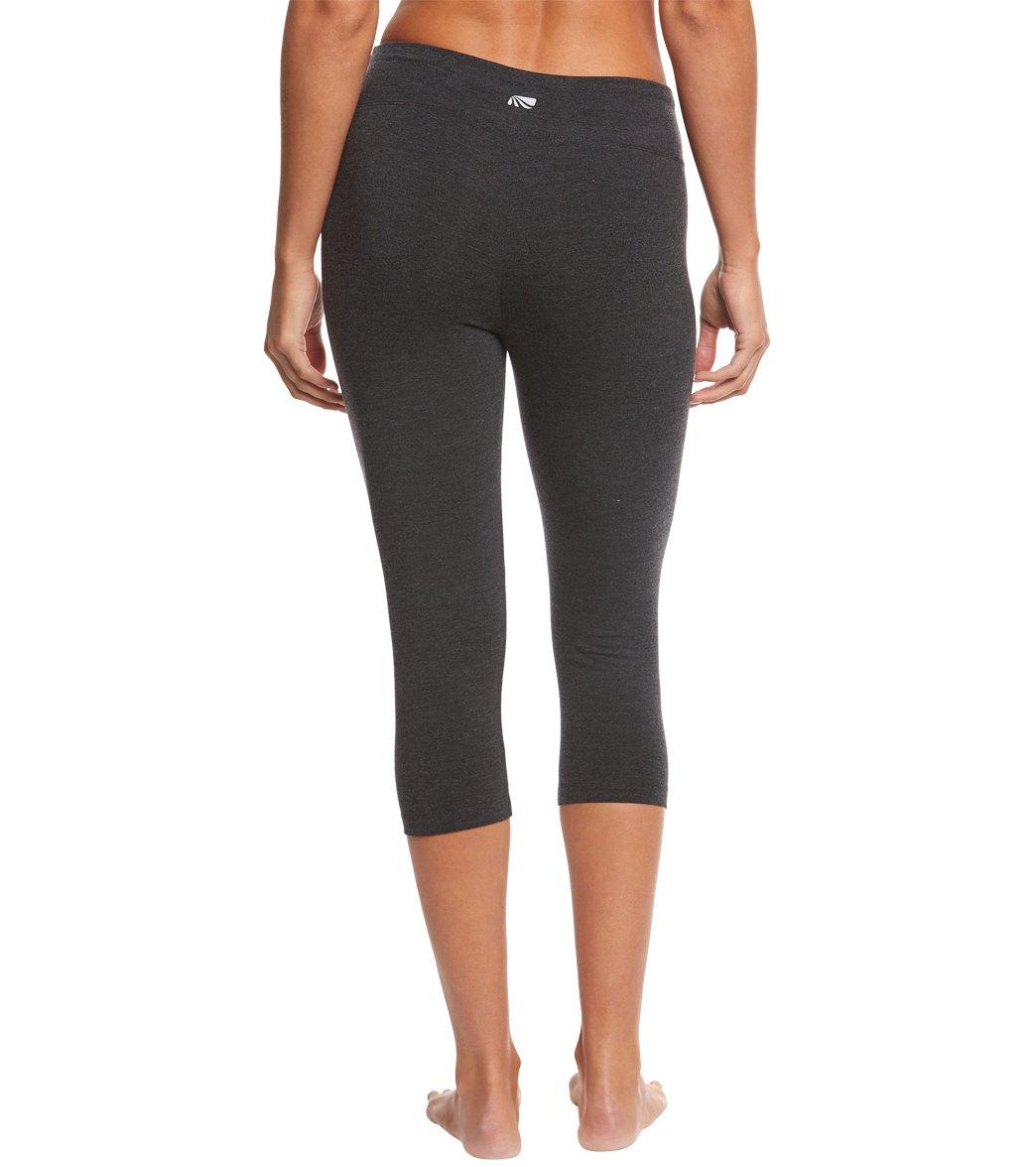 254713fe0e Marika Tummy Control Cotton Yoga Capris at YogaOutlet.com - Free ...