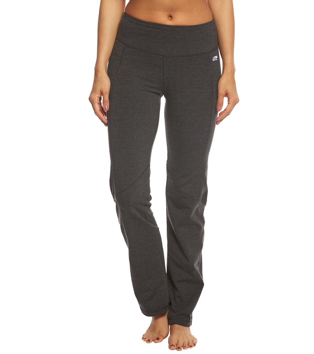 ce59de9e619bd Marika Ultimate Slimming Cotton Yoga Pants at YogaOutlet.com - Free ...