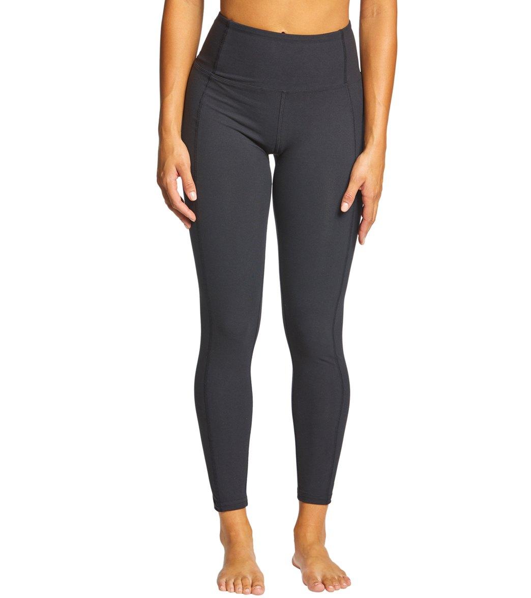 769e0cc110d70 Marika High Rise Tummy Control Yoga Leggings at YogaOutlet.com ...