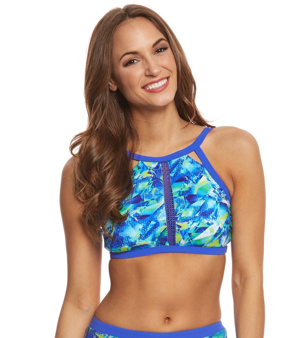 Profile By Gottex Pacific High Neck Bikini Top