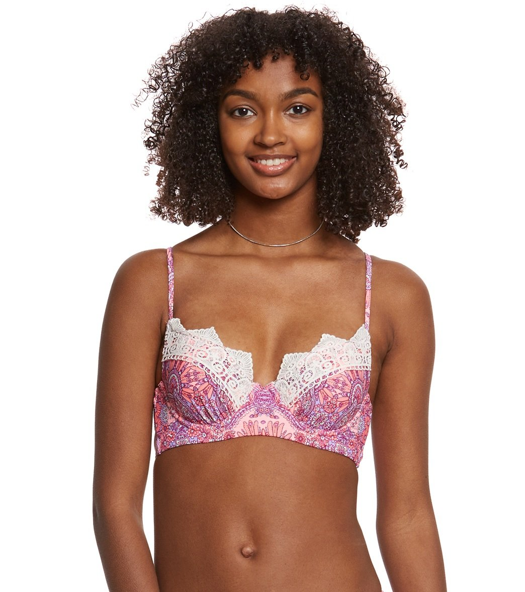 54d2dc54dcba5 Betsey Johnson Princess Charming Underwire Bump Me Up Bikini Top at  SwimOutlet.com - Free Shipping