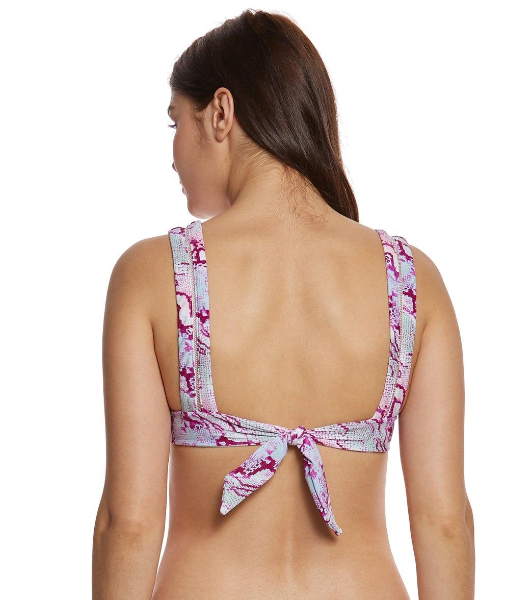 9f17e20ec5069 Betsey Johnson Smooth Operator Bralette Bikini Top at SwimOutlet.com ...