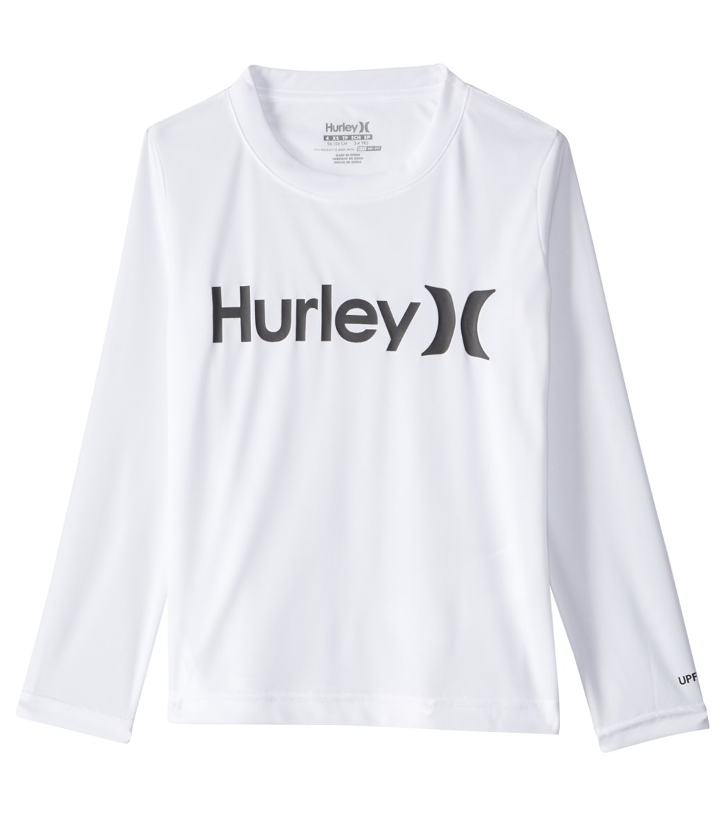 1e33931f2 Hurley Boys' One and Only Sun Protection Long Sleeve Tee (4-7) at ...