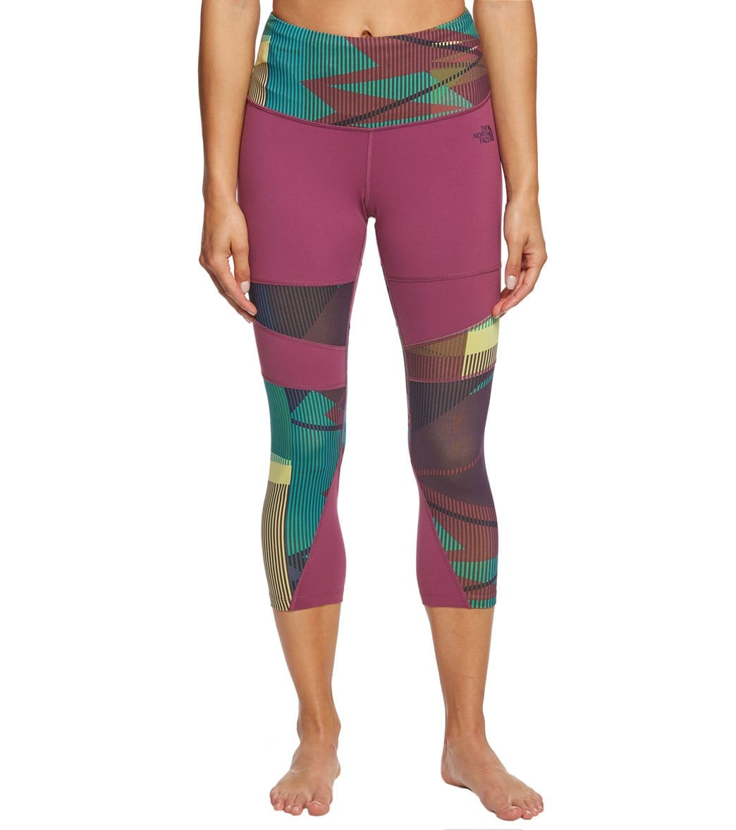 90e0563374f2c The North Face Women's Motivation Printed Tight at SwimOutlet.com - Free  Shipping