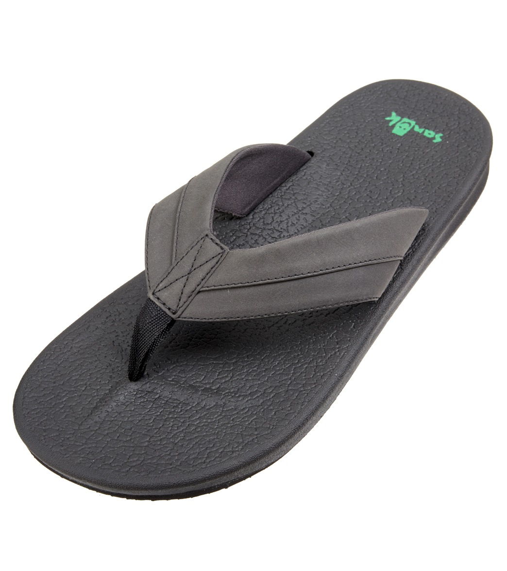 8c5695061f2d Sanuk Men s Brumeister Flip Flop at SwimOutlet.com