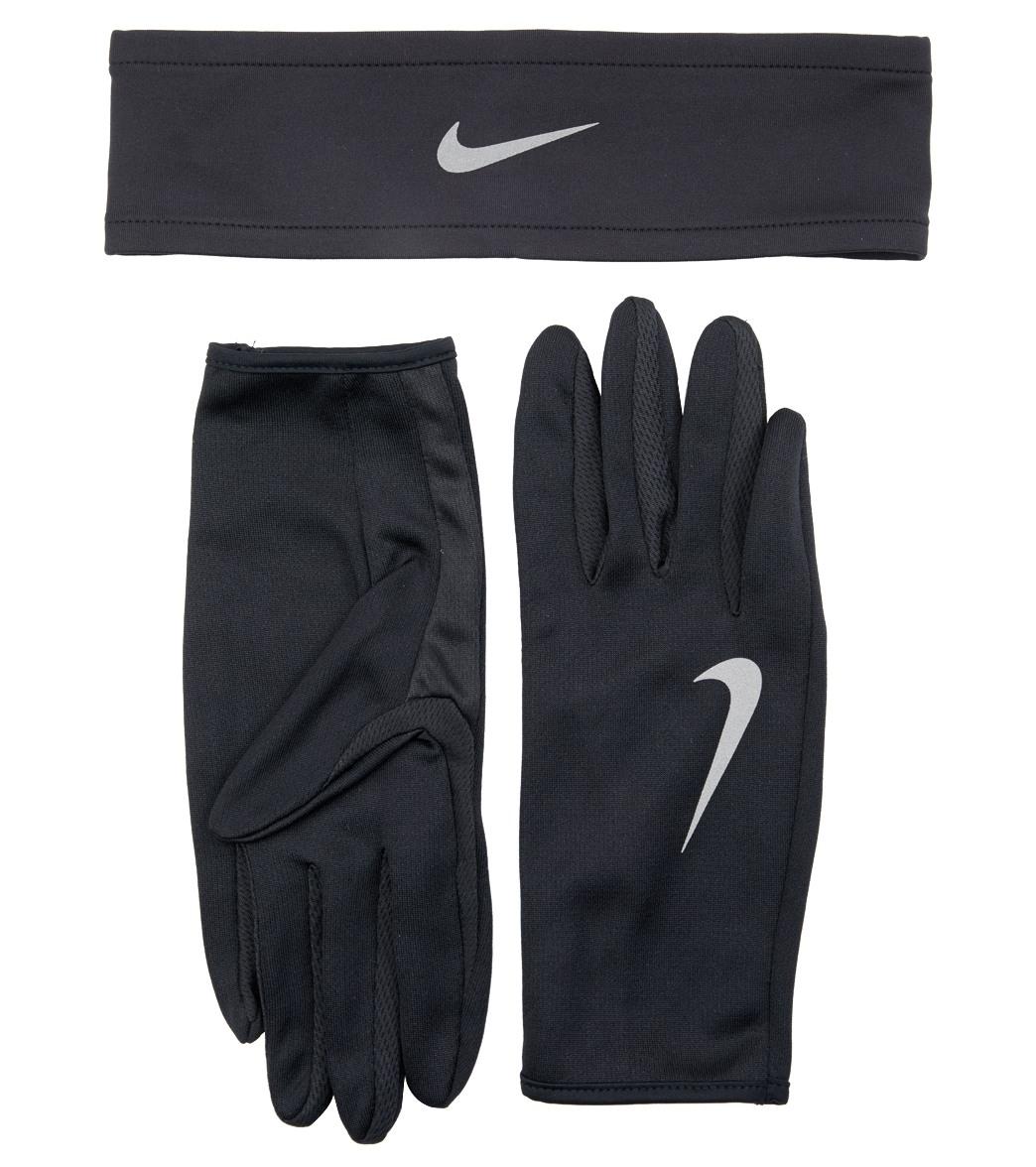 Nike Men s Dri-Fit Running Headband and Glove Set at SwimOutlet.com cc39334af942