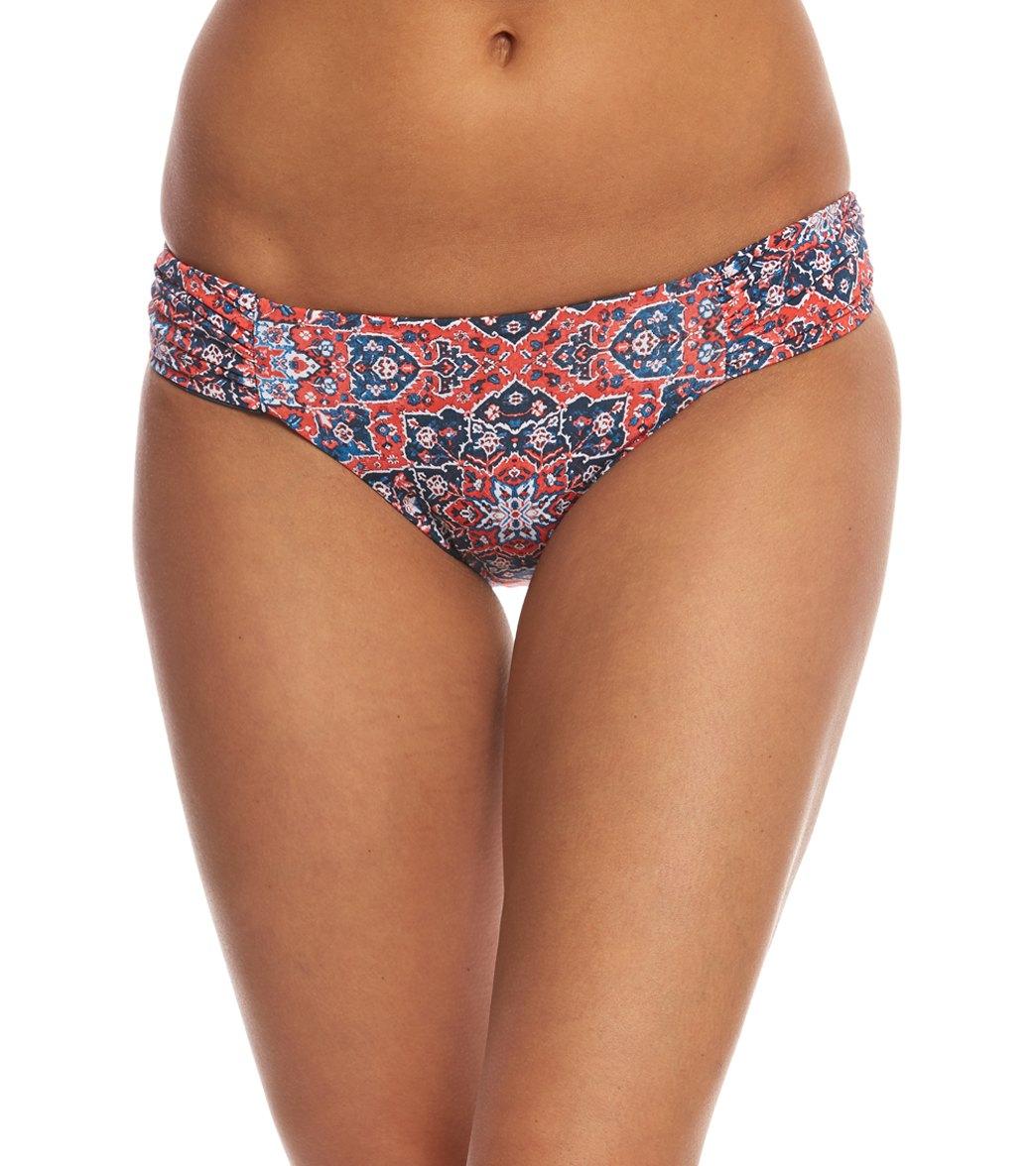 1923908710 ... Lucky Brand Festival Medallion Reversible Hipster Bikini Bottom. MODEL  MEASUREMENTS