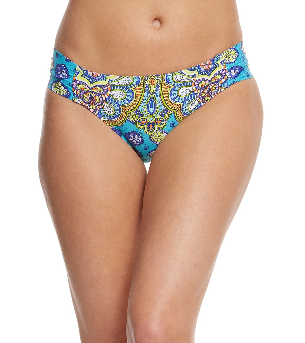 653b54422f Trina Turk Corsica Hipster Bikini Bottom at SwimOutlet.com - Free Shipping