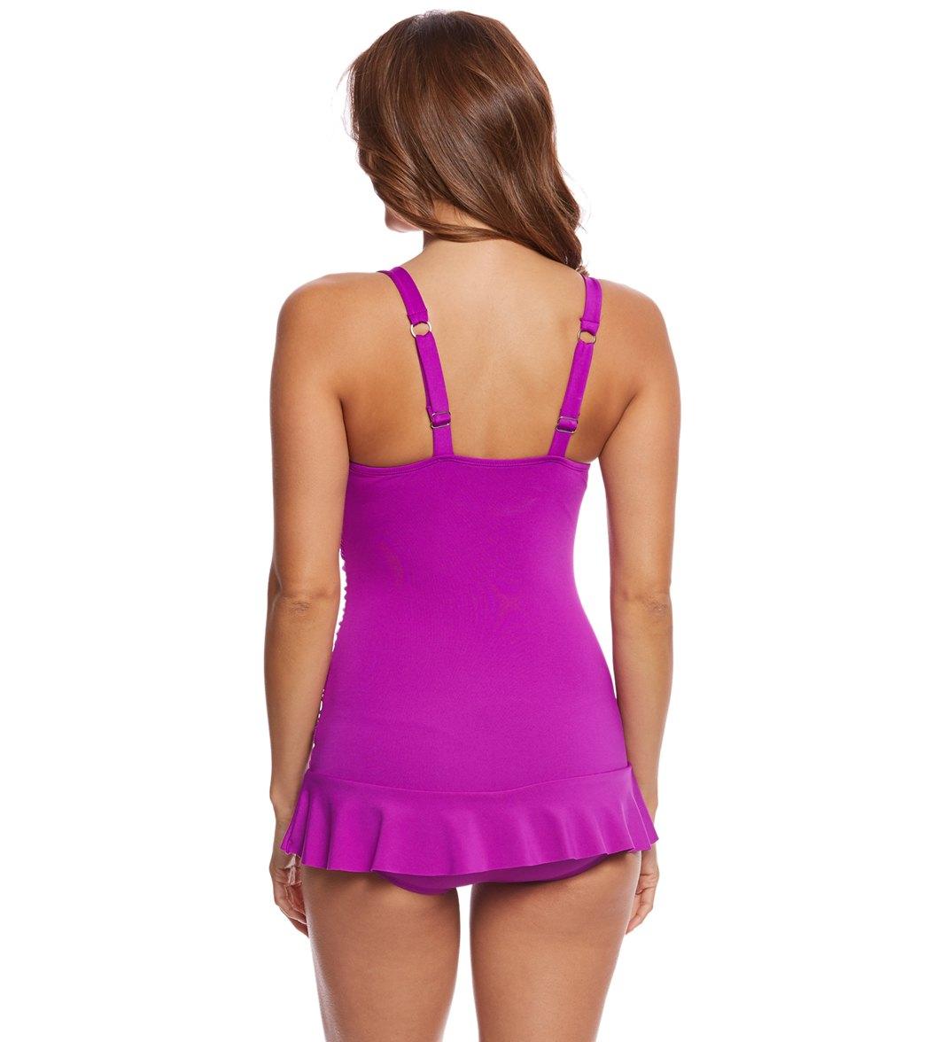 215008043eb Dolfin Aquashape Women s Sweetheart Chlorine Resistant Swim Dress at ...