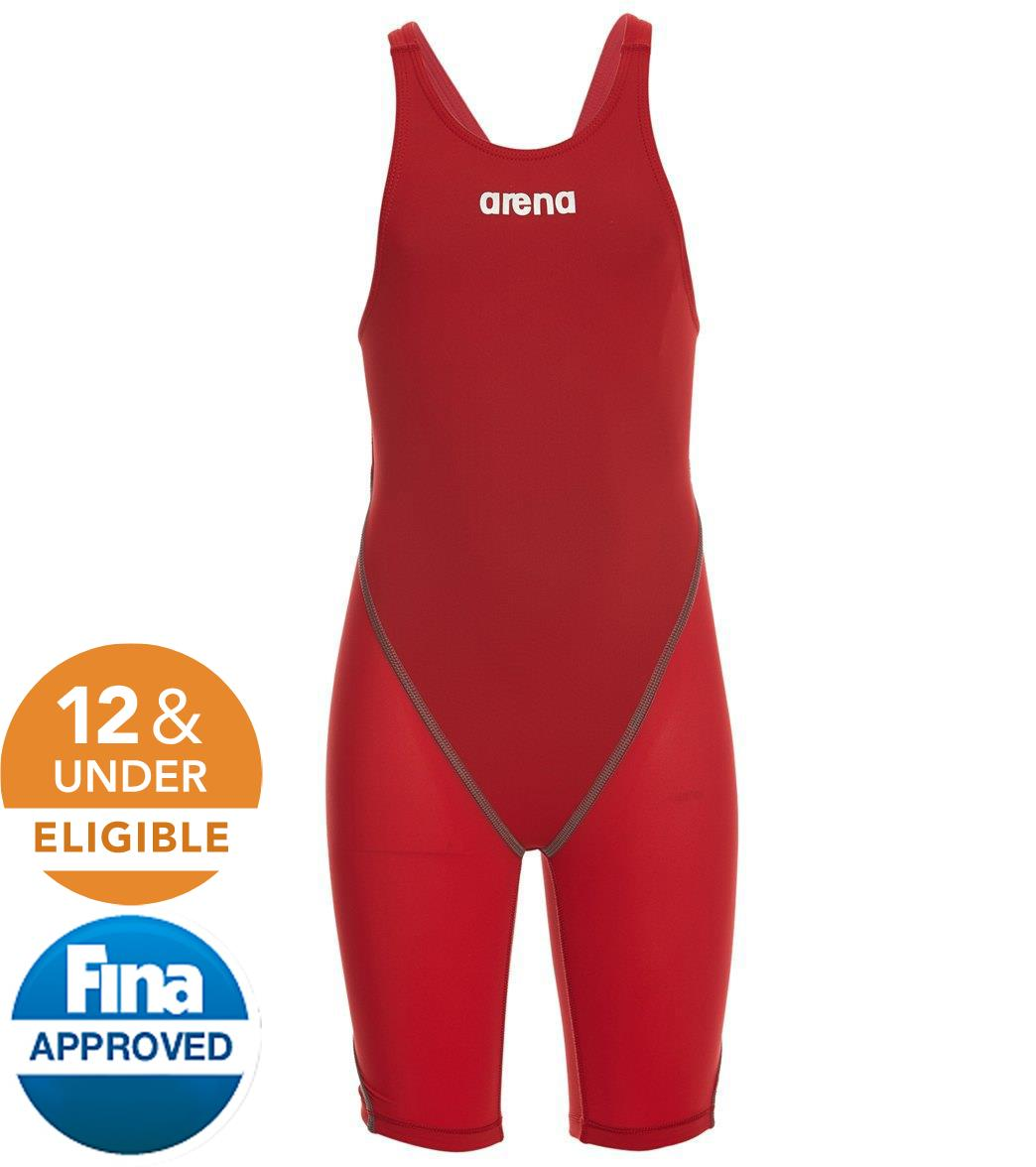 dbb71d21a8 Arena Girls' Powerskin ST 2.0 Open Back Tech Suit Swimsuit at  SwimOutlet.com - Free Shipping