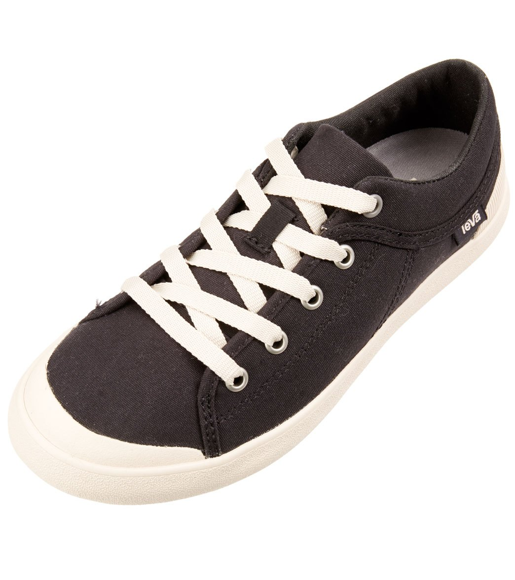 f9b1391c41ea6 Teva Women s Freewheel Washed Canvas Shoe at SwimOutlet.com - Free Shipping