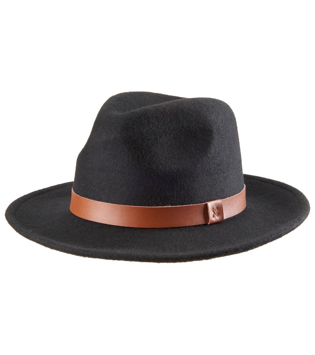 6156a6680fc66 Rhythm Men s Everyday Fedora Hat at SwimOutlet.com