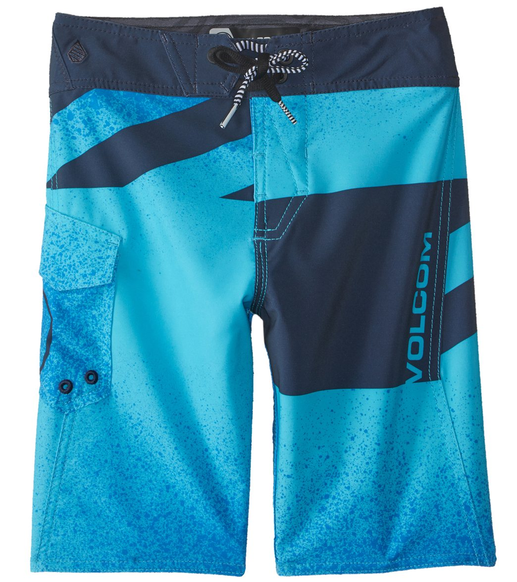 c39ae44c87 Volcom Boy's Logo Party Pack Mod Boardshort (8-20) at SwimOutlet.com