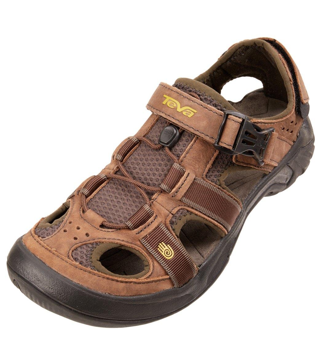 cba705615469 Teva Men s Omnium Leather Water Shoe at SwimOutlet.com - Free ...