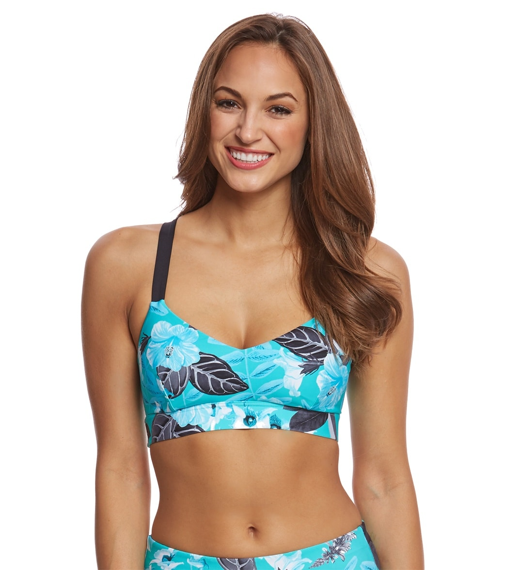 d5d01e923d Seafolly Tropical Vacay Hybrid Bralette Top at SwimOutlet.com - Free  Shipping