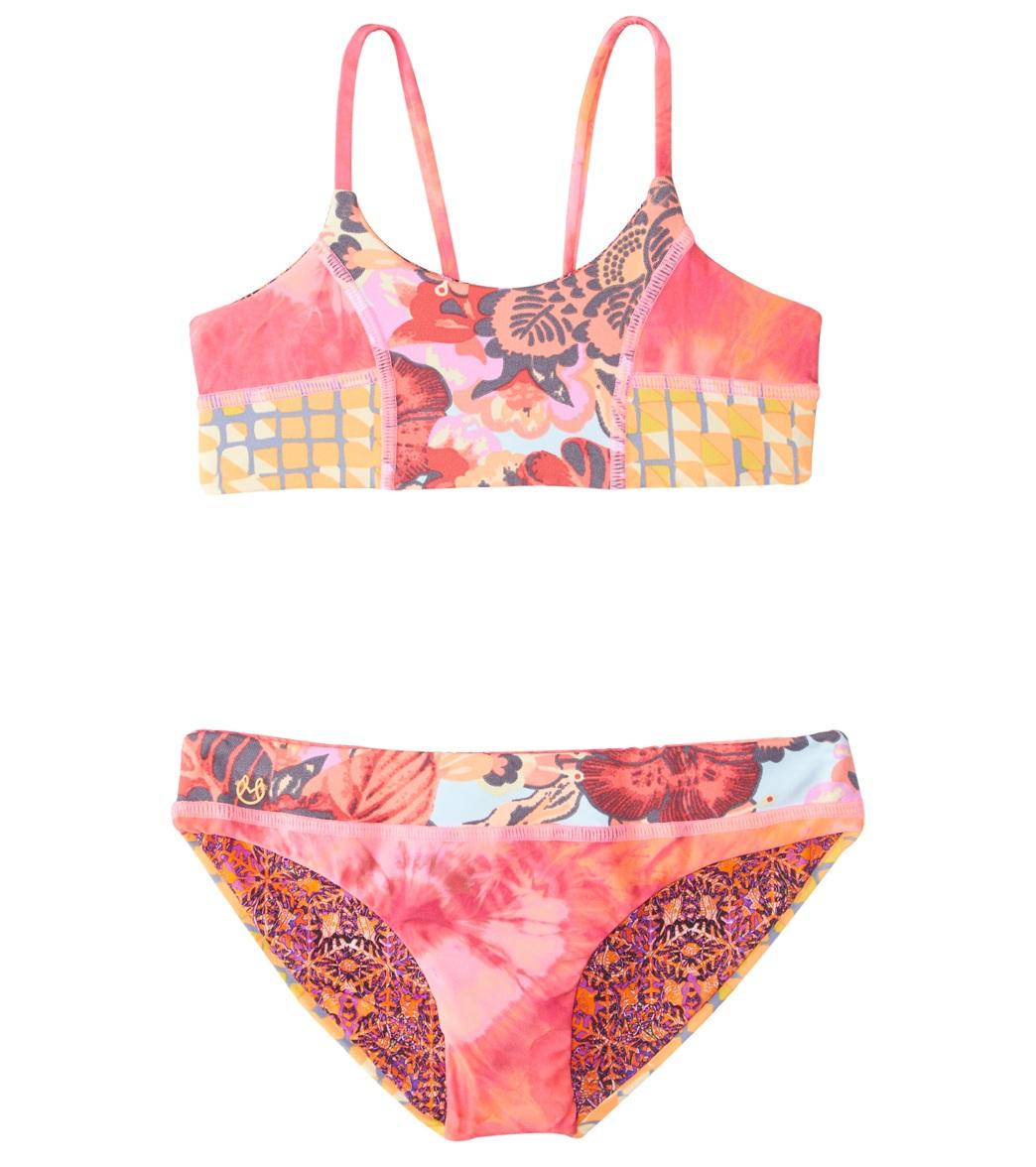 Maaji Girls  Lemonade Bikini Set (2-16) at SwimOutlet.com - Free Shipping 85c7fc22c52c