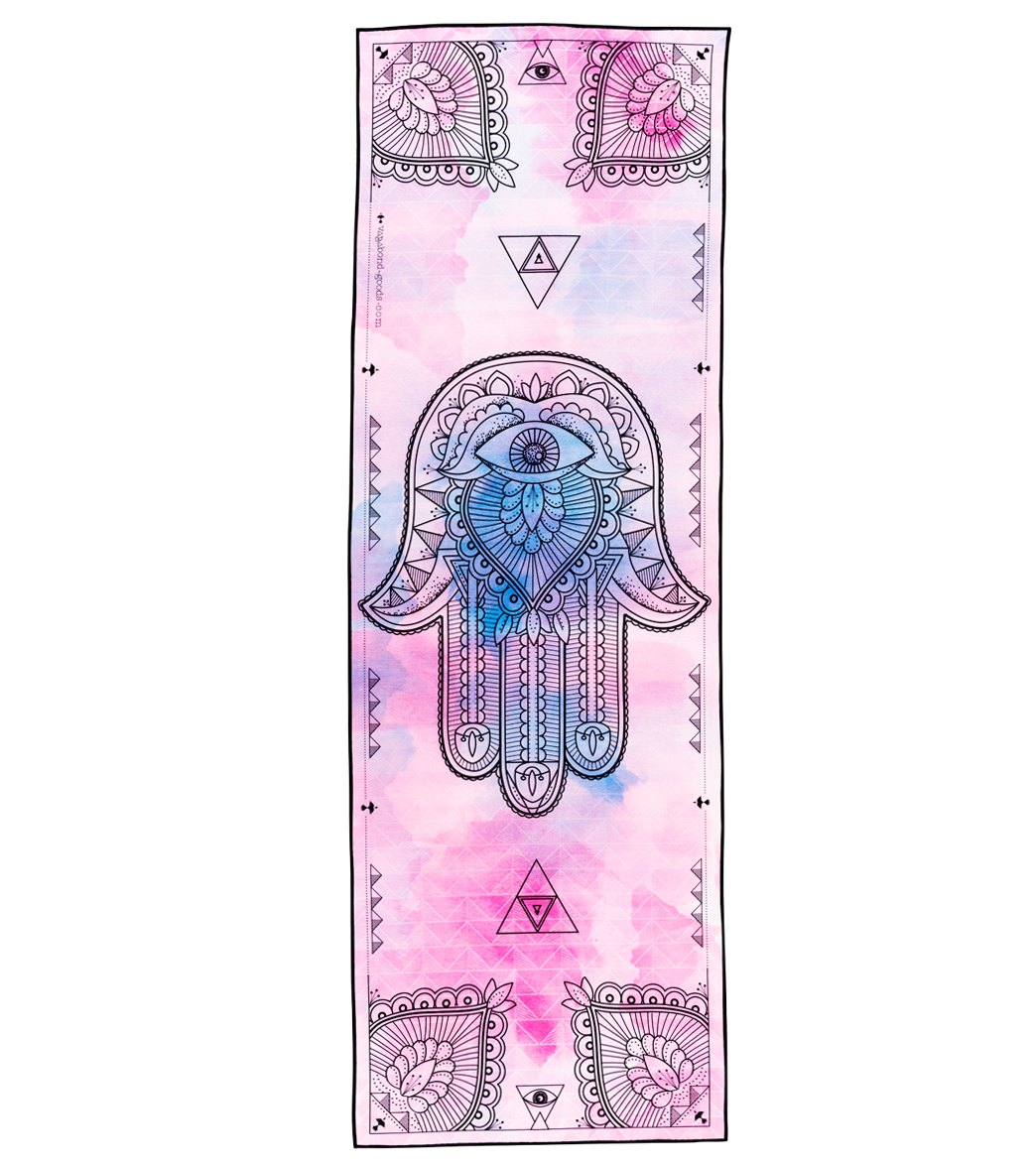 Vagabond Goods Hamsa Yoga Mat Towel At Swimoutlet Com