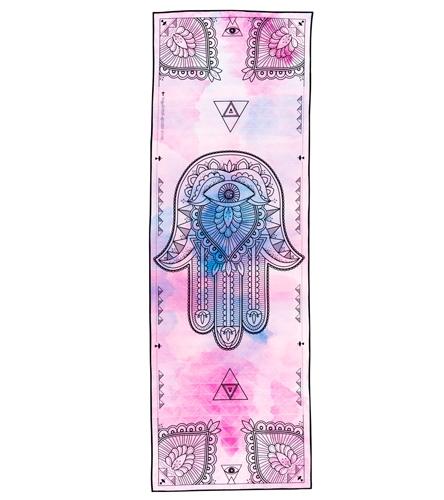 Vagabond Goods Hamsa Yoga Mat Towel At YogaOutlet.com