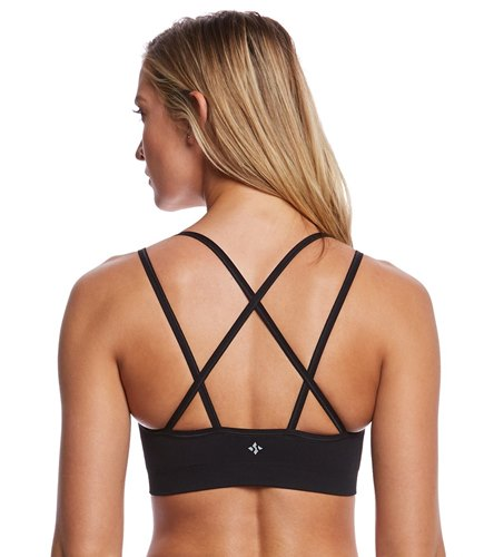 NUX Levitate Seamless Yoga Sports Bra At YogaOutlet.com