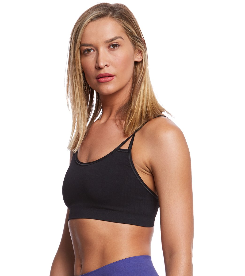 ab93c1fe9ce88 NUX Levitate Seamless Yoga Sports Bra at YogaOutlet.com - Free Shipping