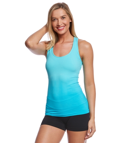 NUX Ombre Freedom Seamless T-Back Yoga Tank Top At
