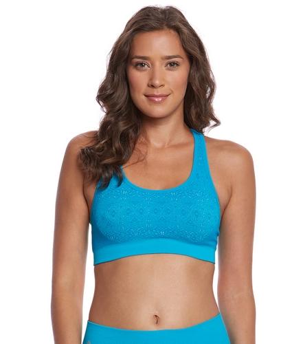 NUX Melia Seamless Yoga Sports Bra At YogaOutlet.com