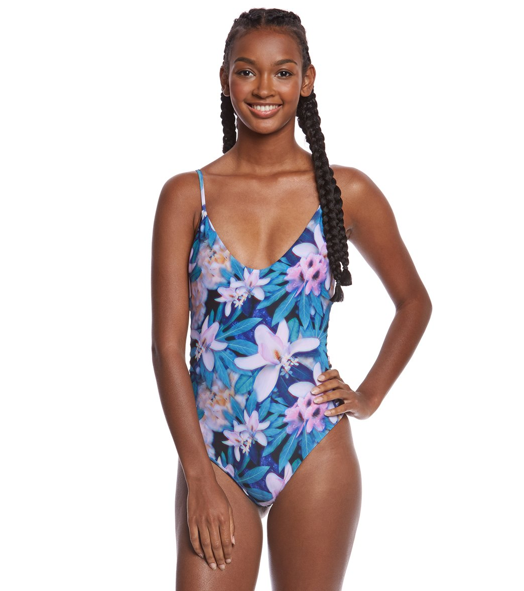 caf06ff3cf2962 Stone Fox Swim Wonderland Hermosa One Piece Swimsuit at SwimOutlet.com -  Free Shipping