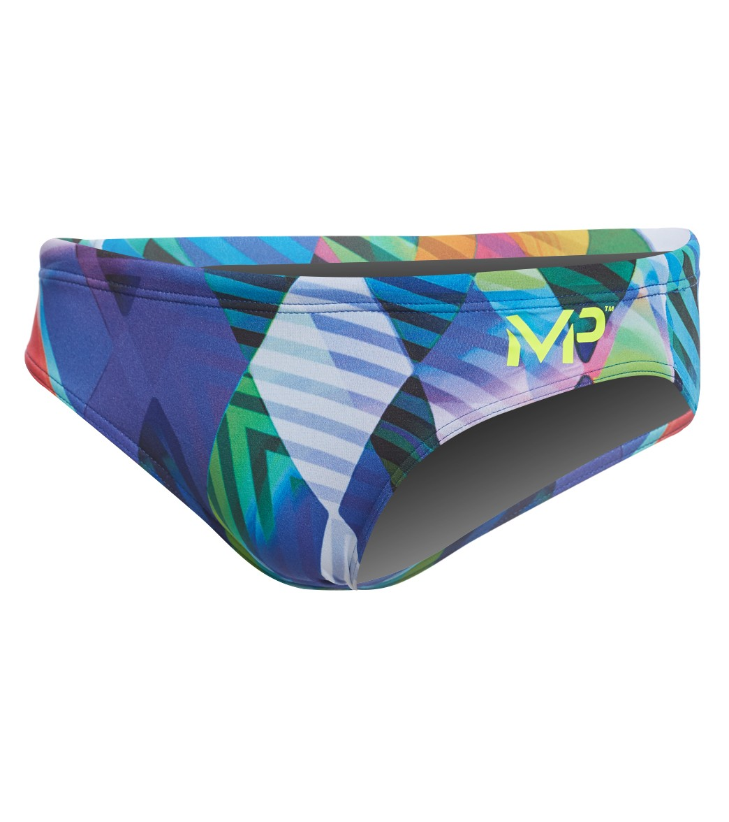 4b74c69f19 MP Michael Phelps Men's Zuglo Brief Swimsuit at SwimOutlet.com