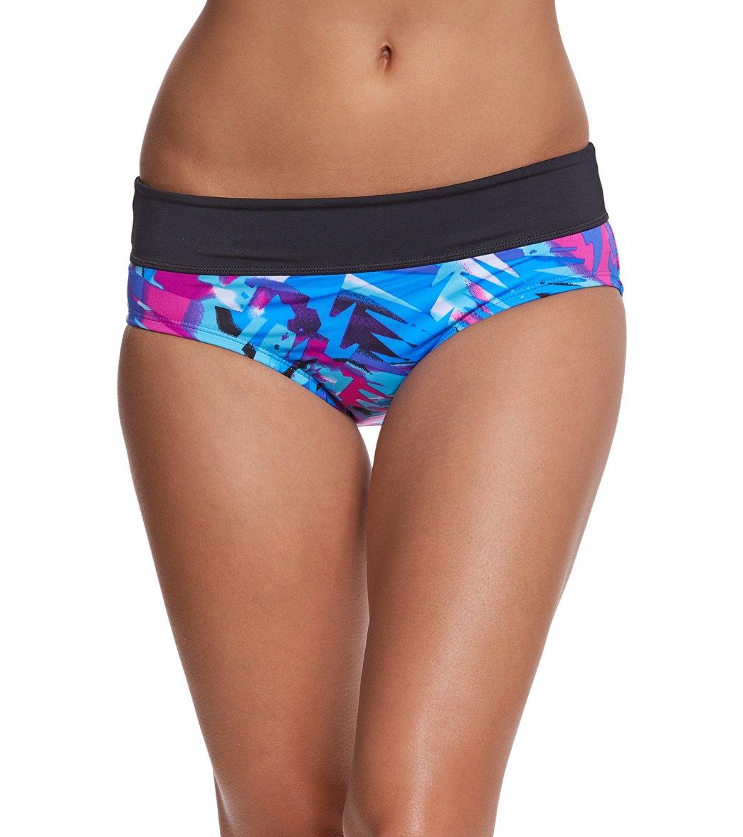 8017ca38e792c2 Nike Tropic Mod Bikini Bottom at SwimOutlet.com - Free Shipping