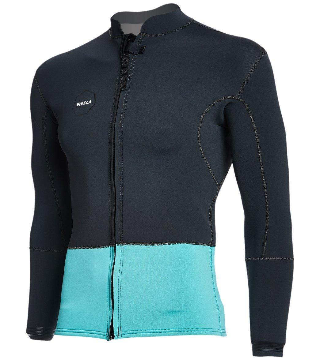Vissla Men's 2MM Front Zip Wetsuit Jacket at SwimOutlet.com - Free Shipping