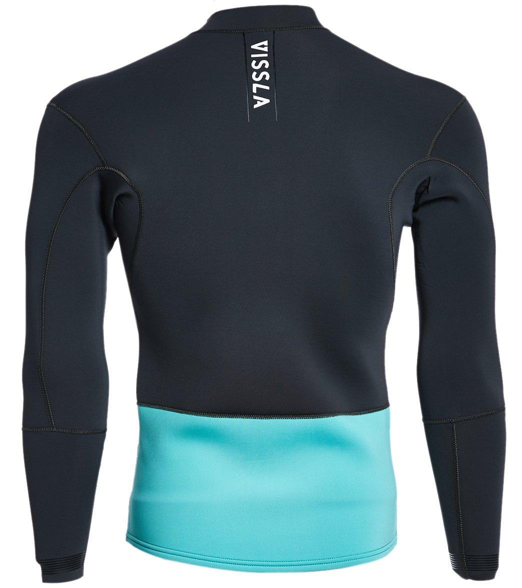 Vissla Men's 2MM Front Zip Wetsuit Jacket