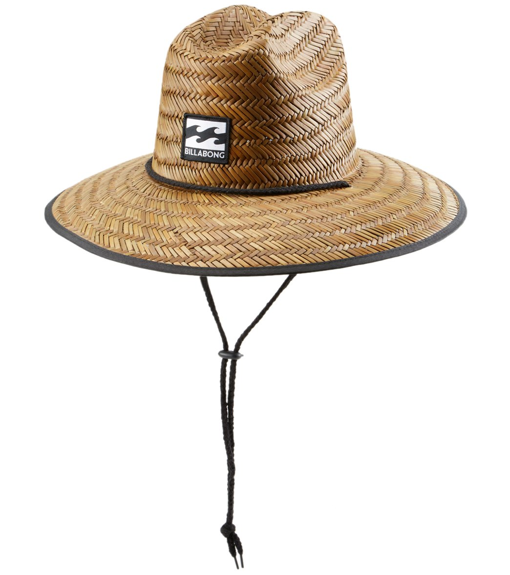f7d5a3db Billabong Men's Tides Print Straw Hat at SwimOutlet.com