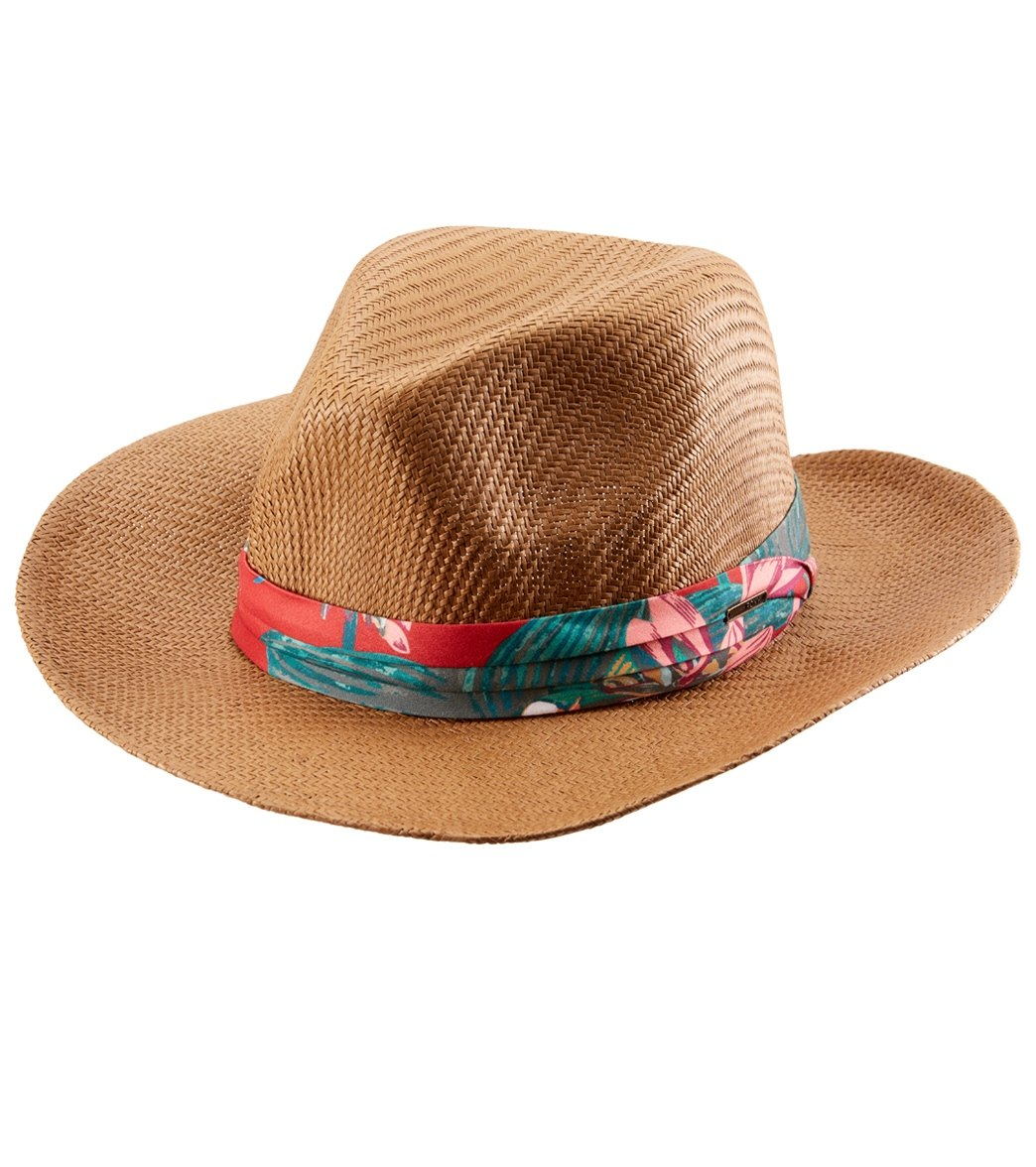573d285ab4e Roxy Here We Go Panama Hat at SwimOutlet.com