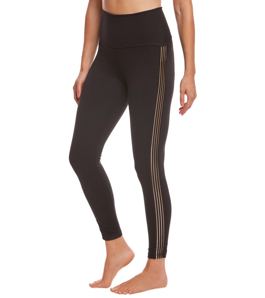 dfdebbe82e Beyond Yoga Sheer Illusion High Waisted 7 8 Yoga Leggings at ...