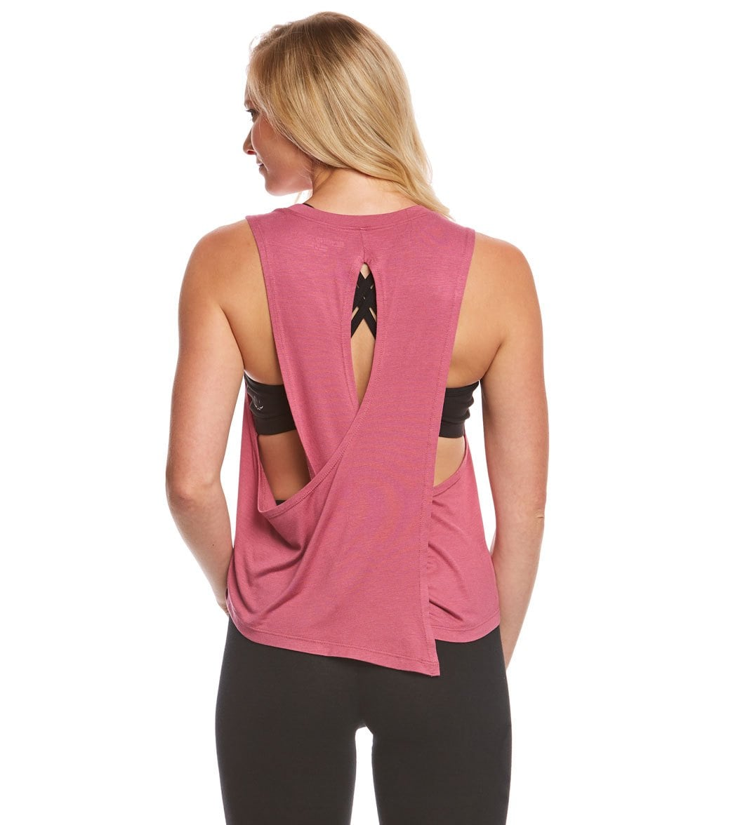 Beyond Yoga Wrap Around Tank Top At YogaOutlet