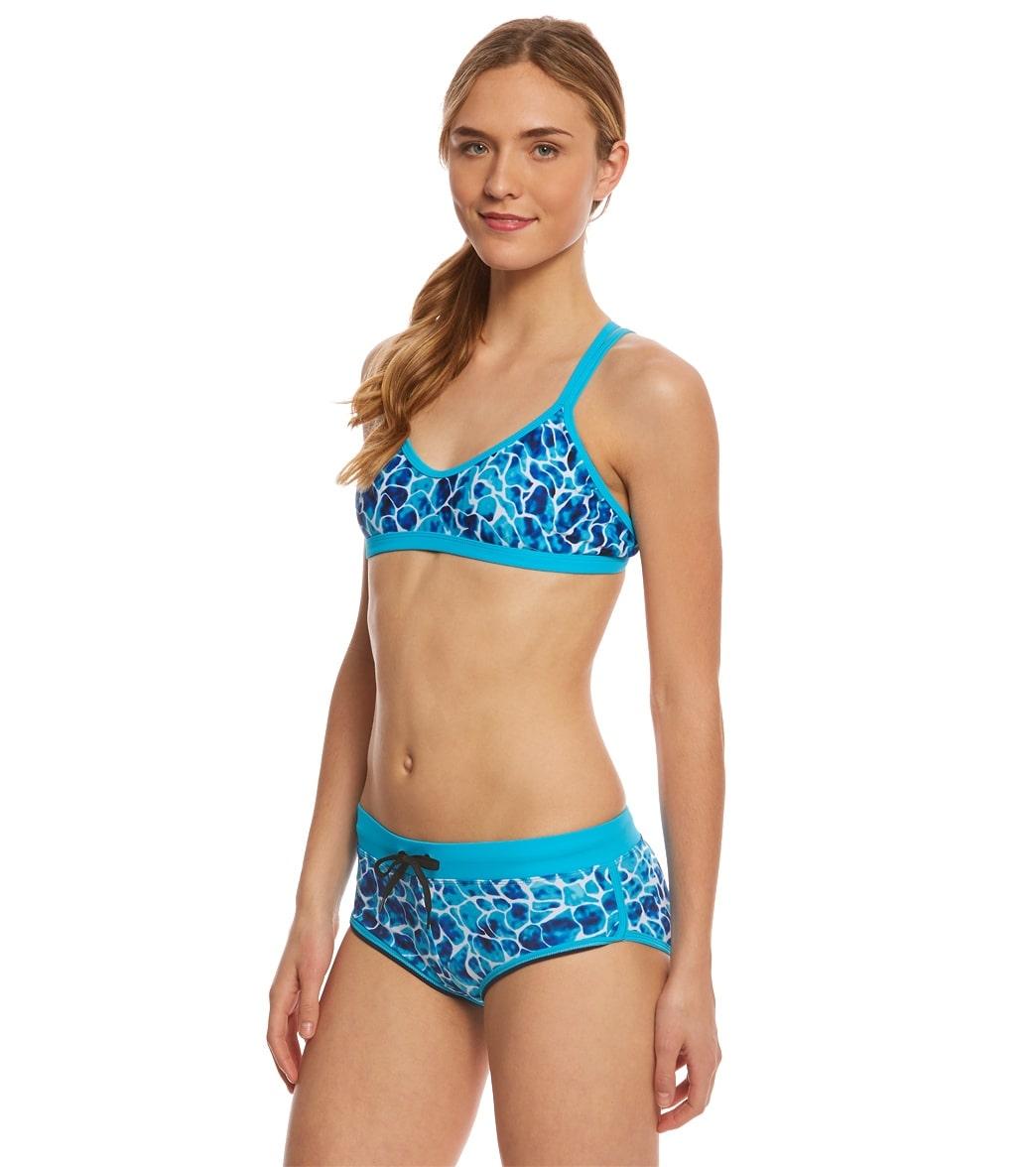 c21a0e38e4a Waterpro Women's Coral Double Strap Bikini Set at SwimOutlet.com