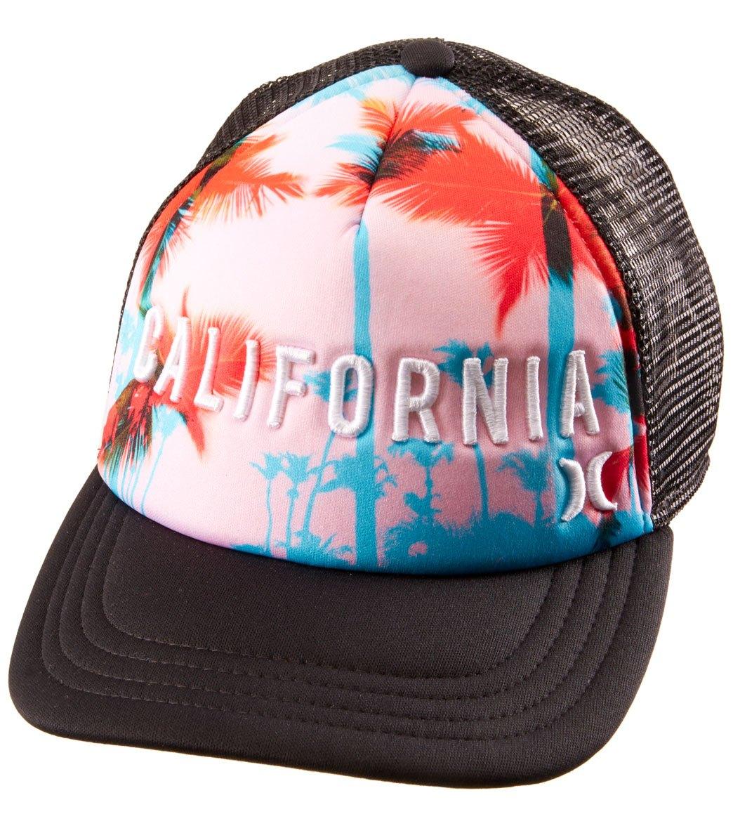 8aaaafdfe143b Hurley Cali Trucker Hat at SwimOutlet.com