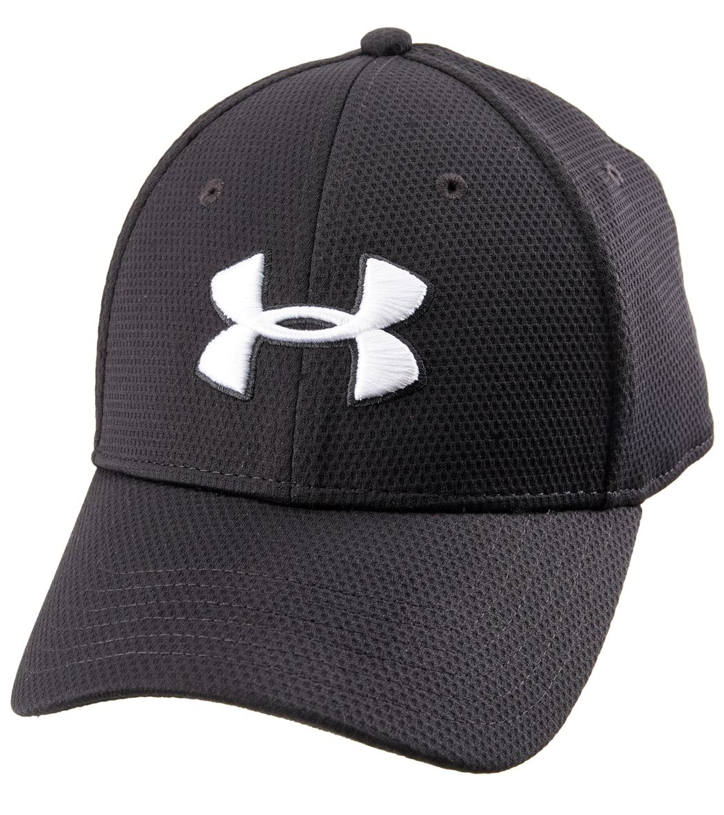 01f201fbd40 Under Armour Men s Blitzing II Stretch Fit Hat at SwimOutlet.com