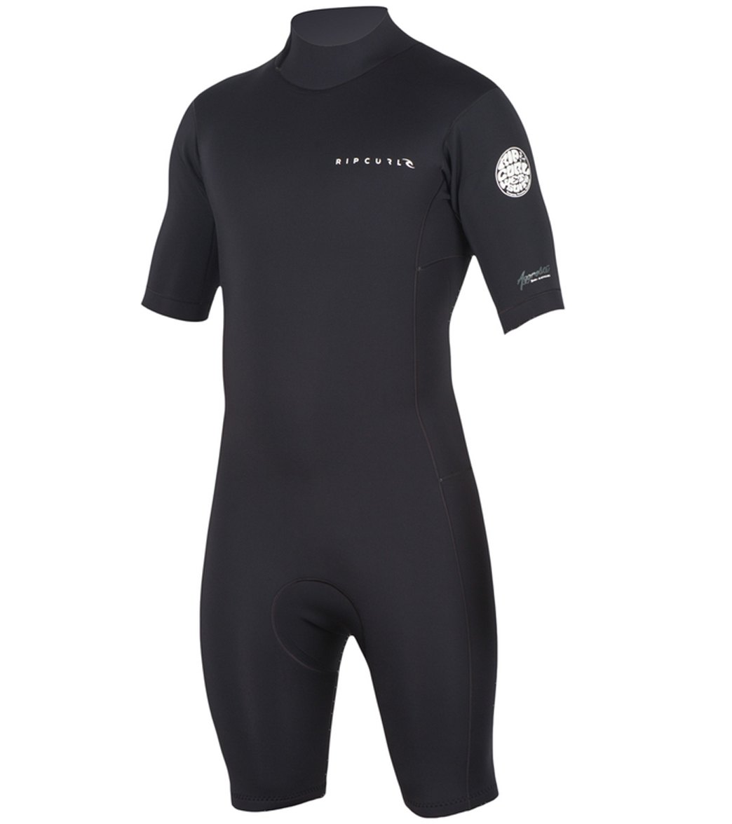 Rip Curl Men s 2 2mm Aggrolite Short Sleeve Back Zip Spring Suit Wetsuit 3c8f69a17
