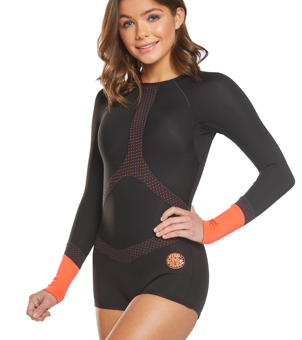 Rip Curl Women s 1mm G-Bomb Madison Long Sleeve Boyleg Spring Suit Wetsuit 11da151000