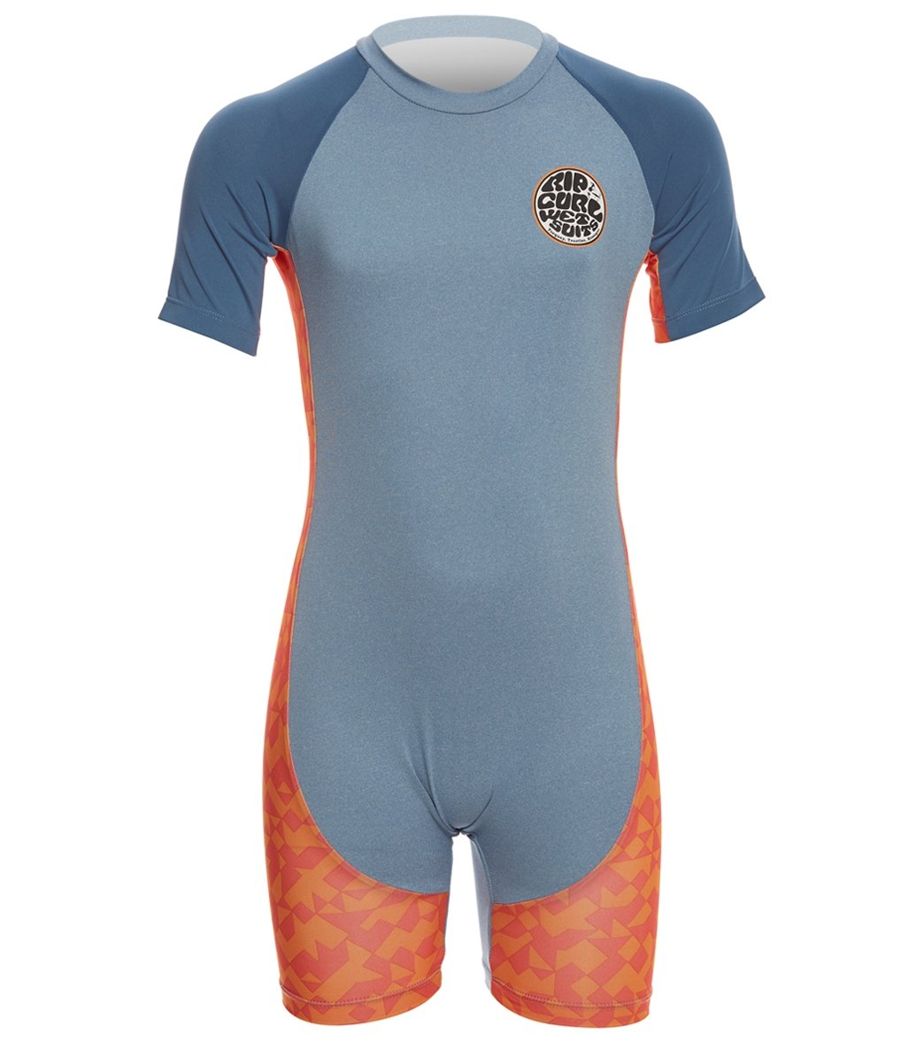 02c8265aa4 Rip Curl Toddler Boys' Aggrolite Short Sleeve Spring Suit Wetsuit at  SwimOutlet.com