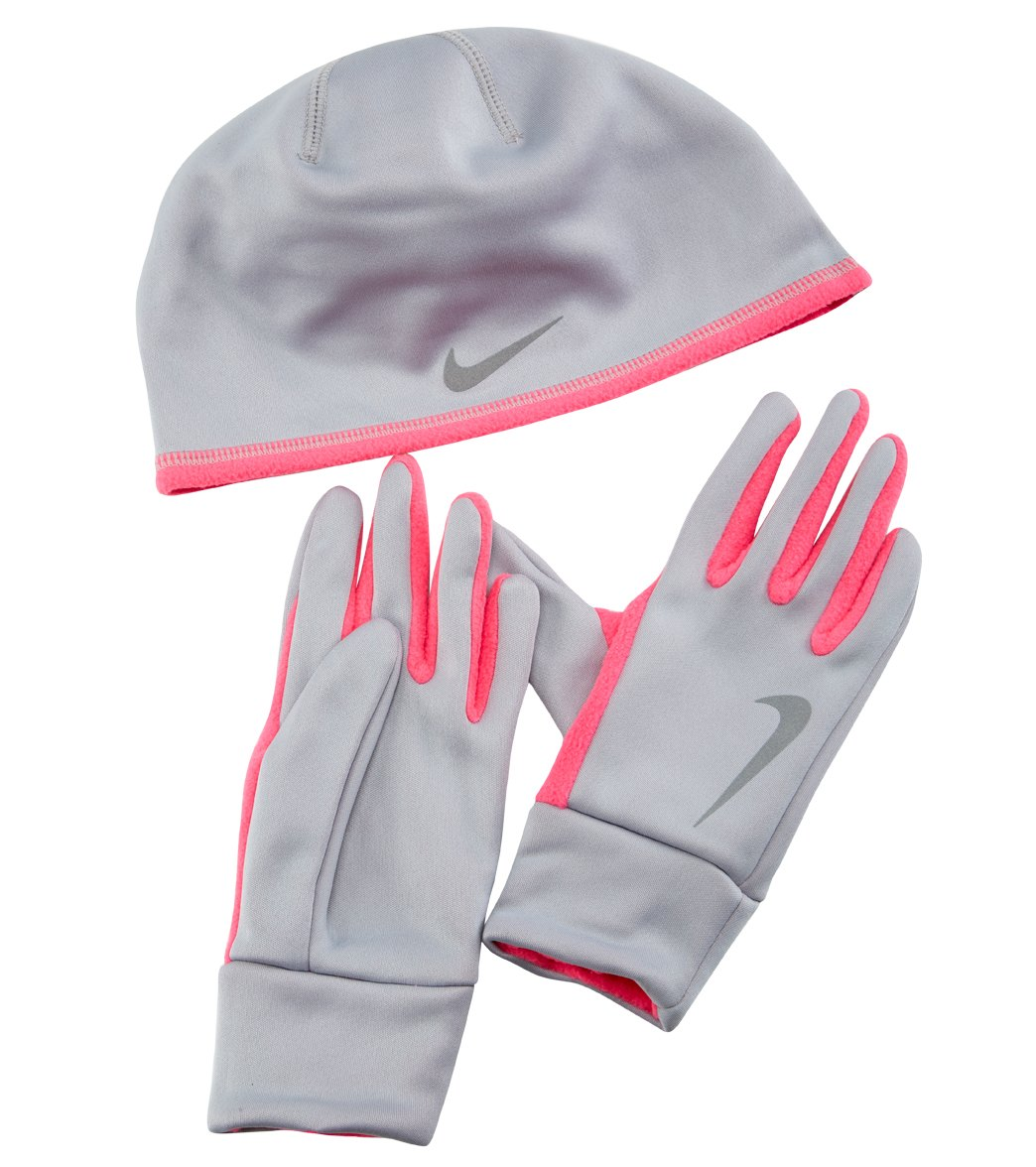 3ff71bfc312e Nike Women s Run Thermal Hat and Glove Set at SwimOutlet.com