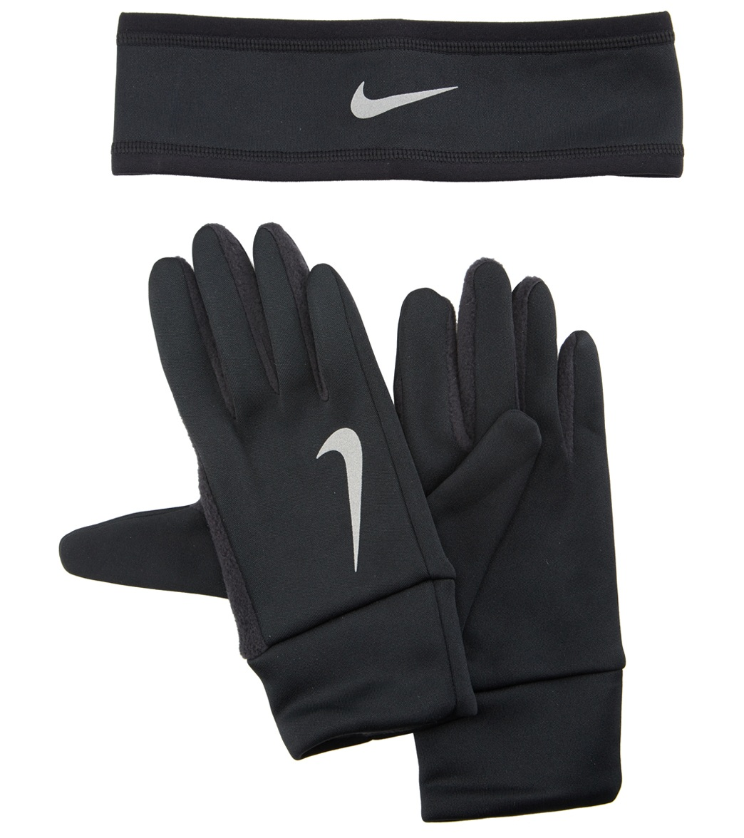 21e068fe9 Nike Women's Run Thermal Headband and Glove Set at SwimOutlet.com