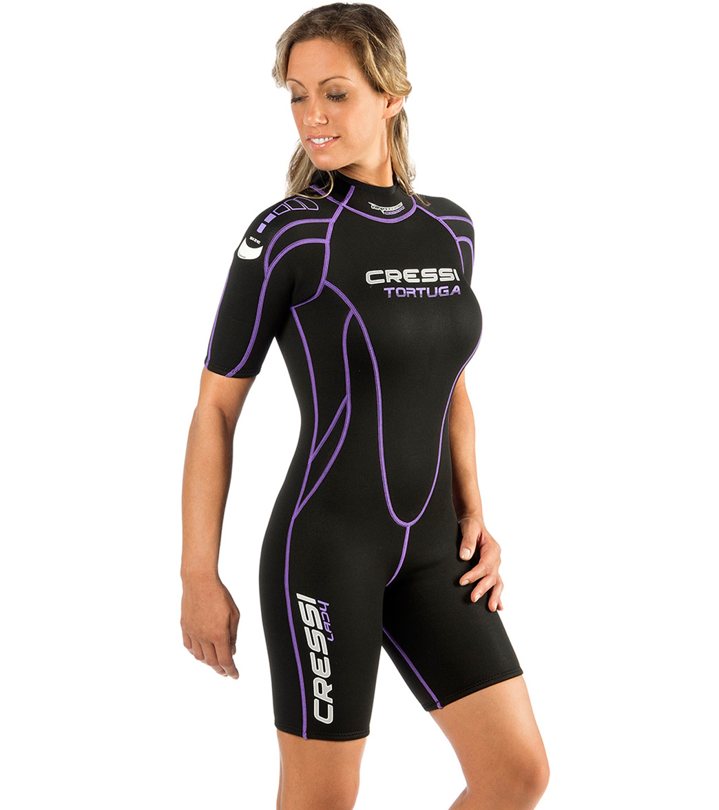 Cressi Women s 2.5mm Tortuga Shorty Wetsuit at SwimOutlet.com ... 25615bb12